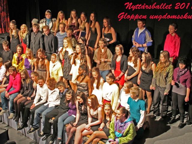 10. klasse ved Gloppen ungdomsskule