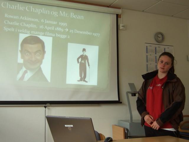 God idé å samanlikne Landsstrykaren og Mr. Bean!