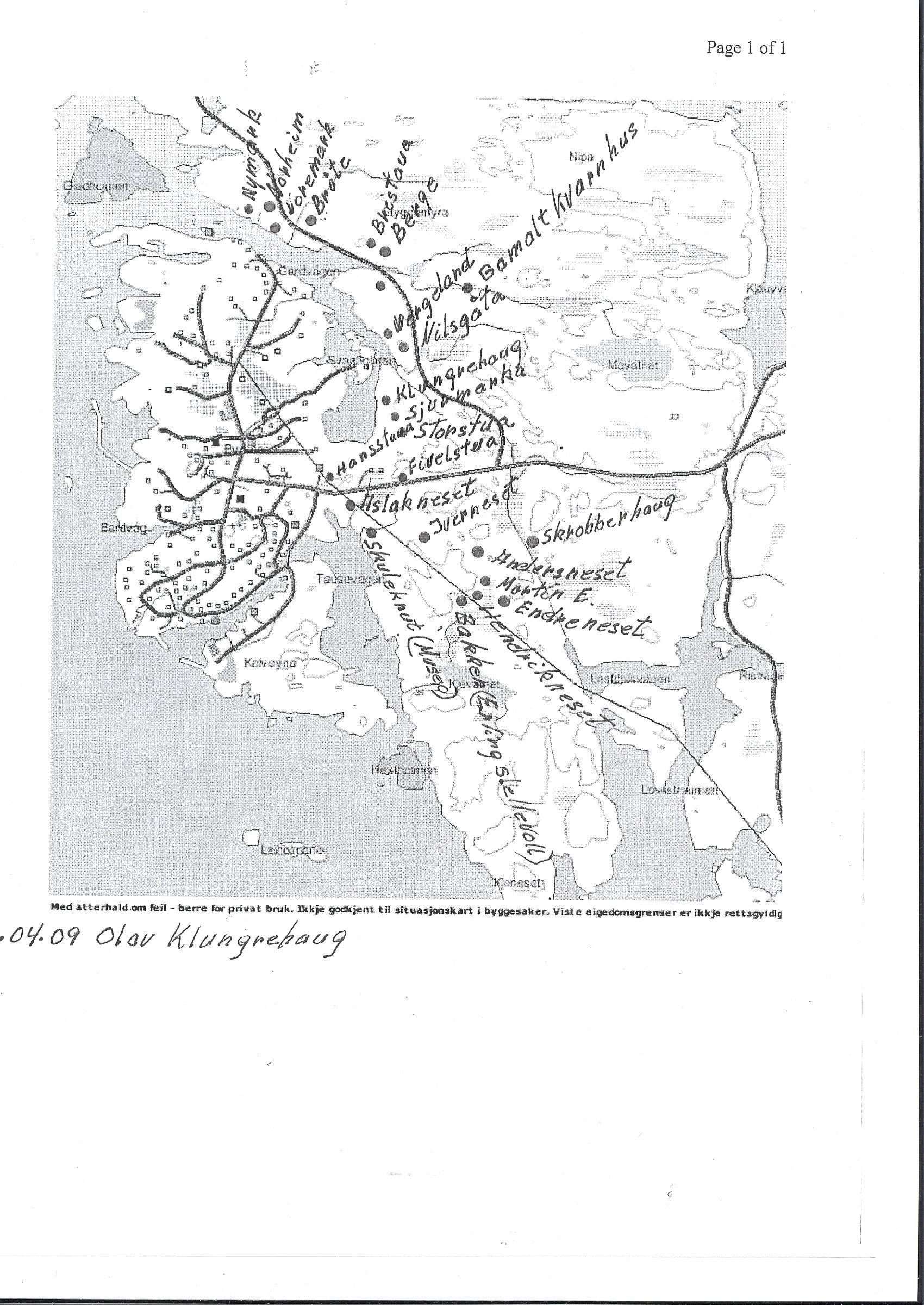 byrknesøy kart Vårflorane på Byrknesøy | GeoAtlas