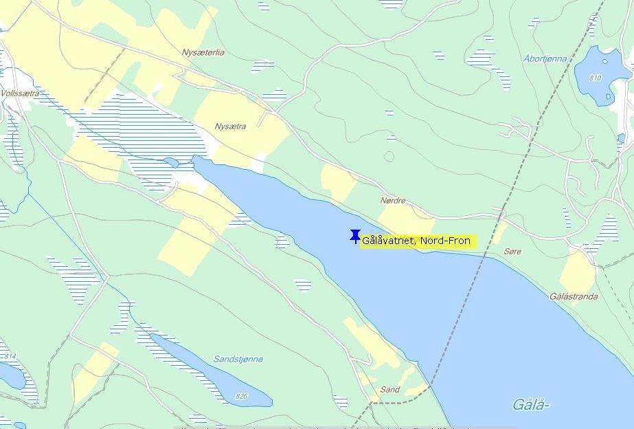gålåvatnet kart verktøy til gålåvatnet kart